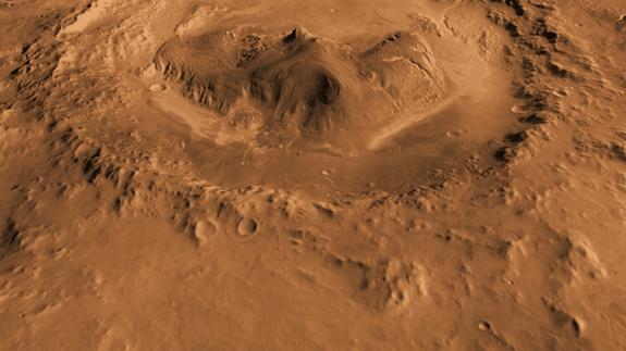 На марсианском экваторе обнаружили водный лед
