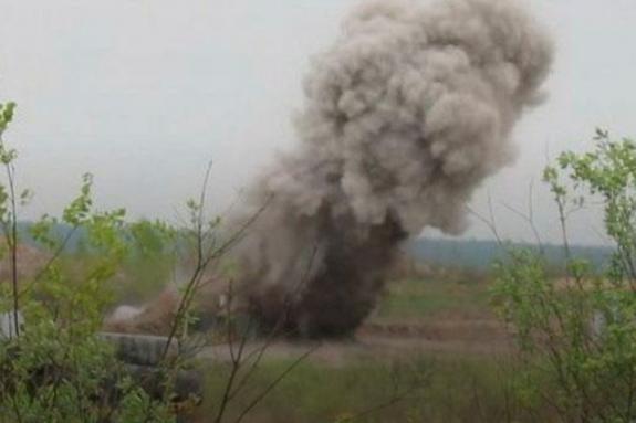 На полигоне под Киевом разорвало снаряд: погиб военный, 5 получили ранения