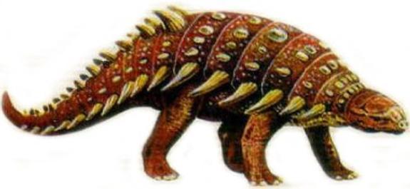 """В Канаде обнаружили костяной панцирь древнего ящера - """"живого танка"""""""