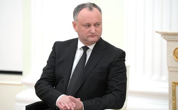 Додон попросил российские власти не вводить санкции против Молдавии