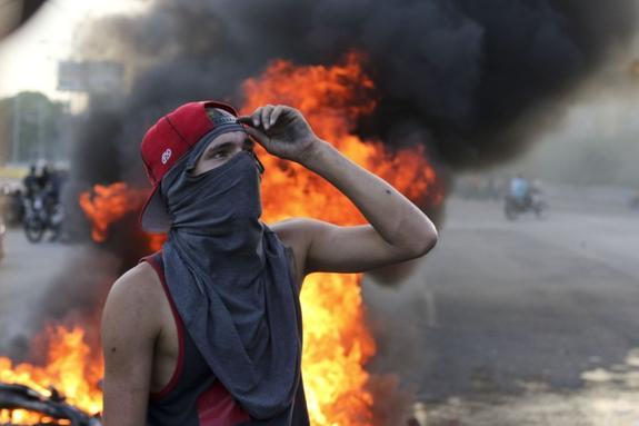 Венесуэльские военные подняли мятеж против Мадуро