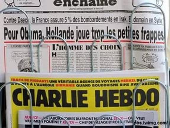 Charlie Hebdo опубликовал карикатуру про ураган в Техасе