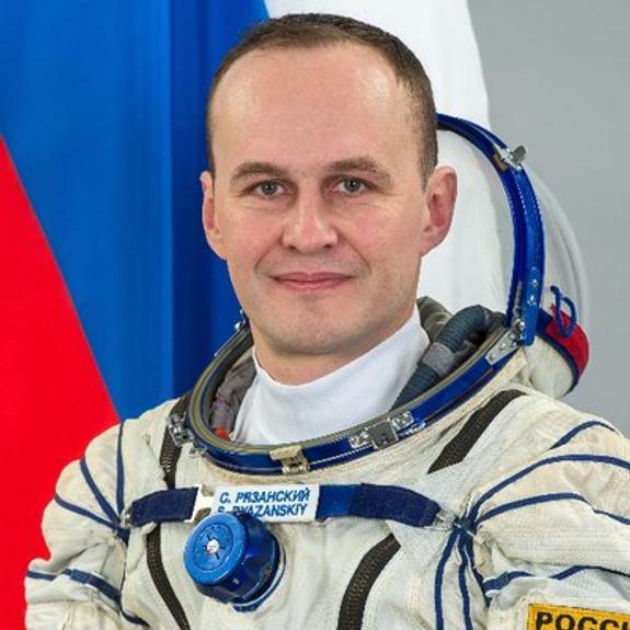 Космонавт Сергей Рязанский опубликовал вид Крымского моста  с орбиты МКС