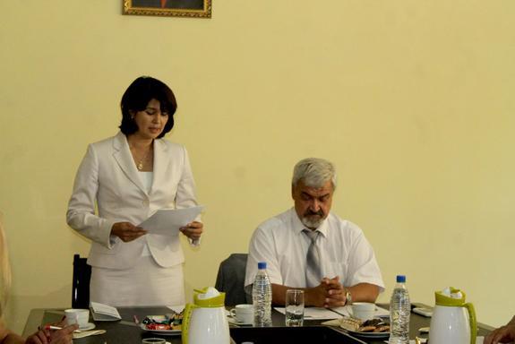 В Таджикистане презентовали студенческое движение «Евразийский экспресс»