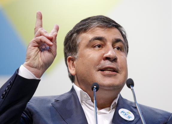 Саакашвили рассказал, что к его приезду на Украине готовят военную технику