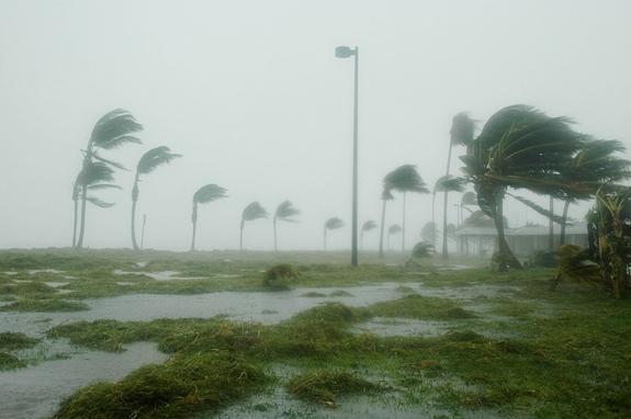 Ураган «Ирма» разогнался до скорости 220 километров в час