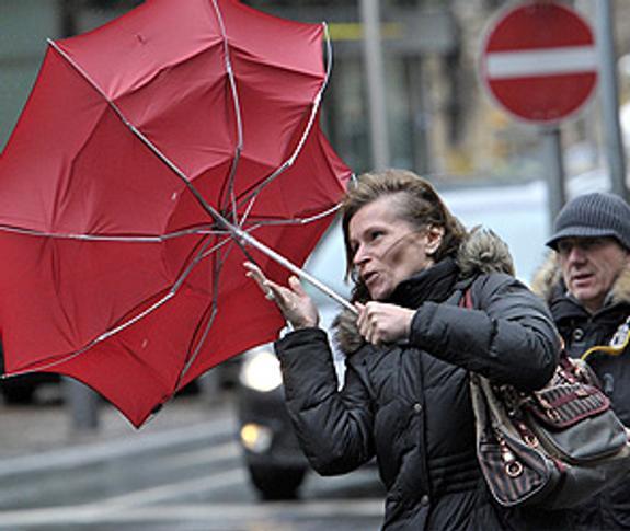 На Москву надвигается мощный циклон