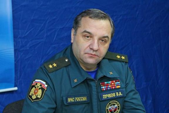 В Екатеринбург летит глава МЧС РФ Владимир Пучков