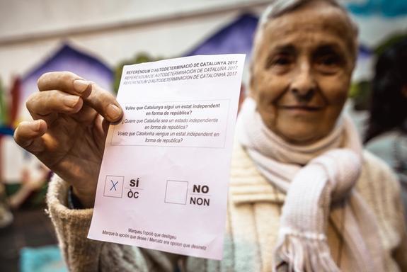Политолог рассказала о возможных последствиях референдума в Каталонии