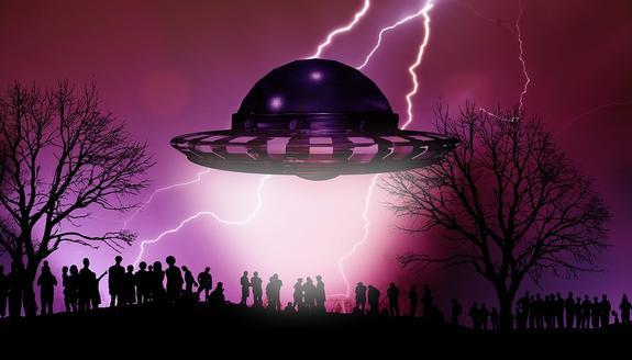 Над Мексикой зафиксировали  большое количество НЛО