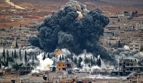 СМИ: в Сирии при ударе коалиции во главе с США погибли 12 человек