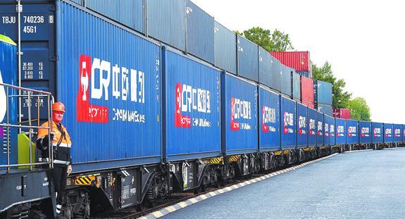 Россия связала Китай и Европу по железной дороге