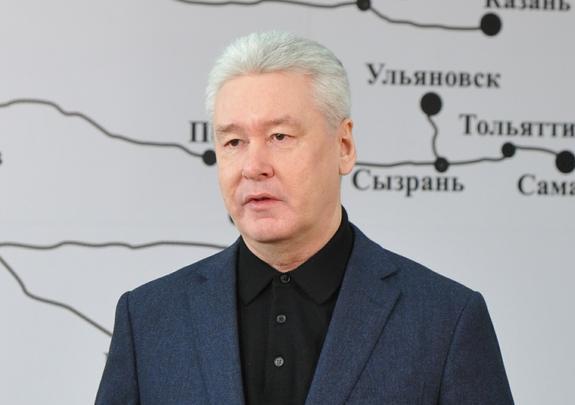 Собянин объявил об открытии участка фиолетовой линии московского метро