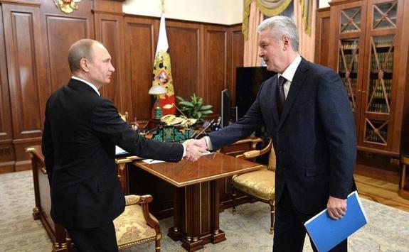 Сергей Собянин представил Владимиру Путину проекты развития Москвы