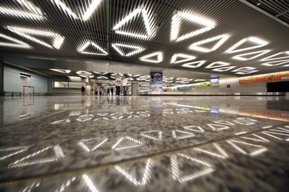 Возгорание в аэропорту Внуково полностью ликвидировано