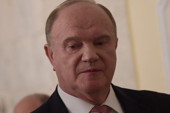 """Зюганов идет на президентские выборы с программой """"10 шагов к достойной жизни"""""""