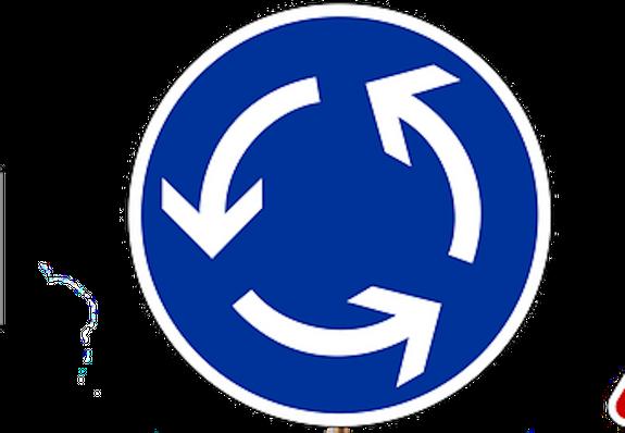 Новые правила движения на круговых перекрестках вступили в силу в России