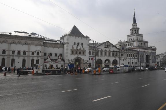 Аноним сообщил о бомбе в здании Казанского вокзала в Москве