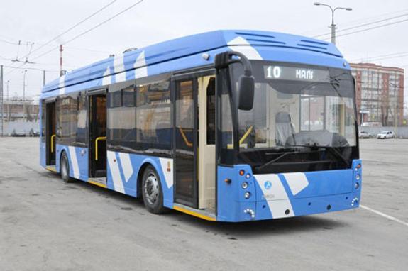 В Екатеринбурге начали тестировать электробусы