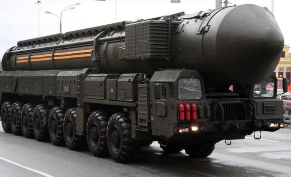 Колонна ПГРК «Ярс» прибыла в Алабино для подготовки к военному параду