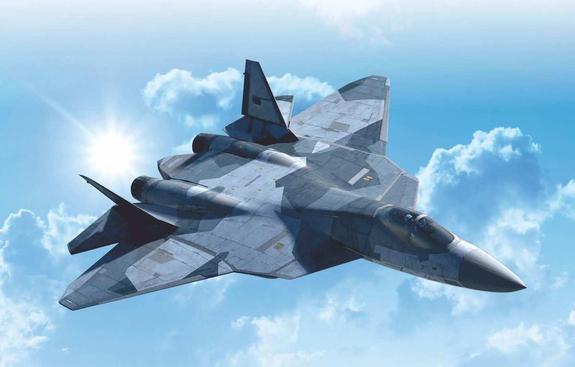 Су-57 прибыли на закалку в «Дамасской стали»