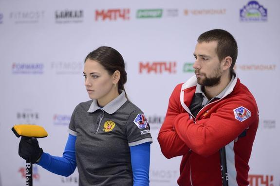 Керлингистка Брызгалова отказалась менять партнера на чемпионат мира