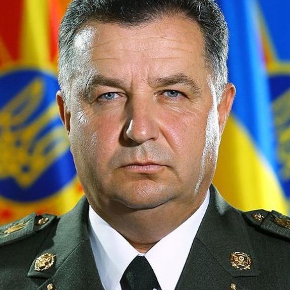 Полторак рассказал, кто воюет в зоне боевых действий в Донбассе