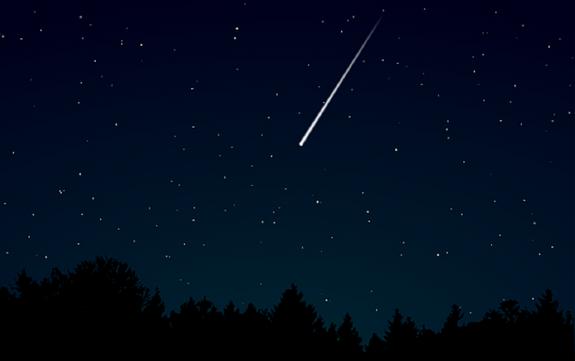 Пролетевший над Екатеринбургом крупный метеор смогли снять на видео
