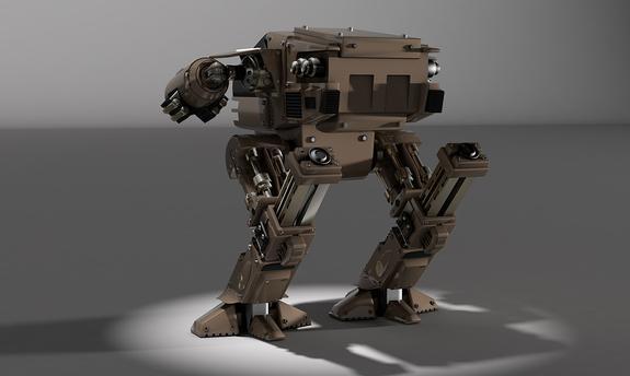 Гигантский робот провалил тест-драйв