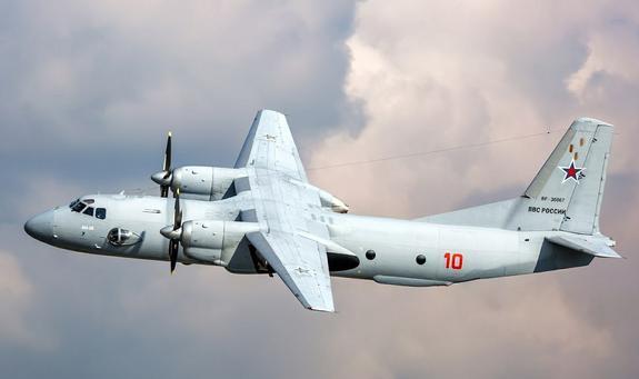 Шойгу  доложил Путину все подробности крушения Ан-26 в Сирии