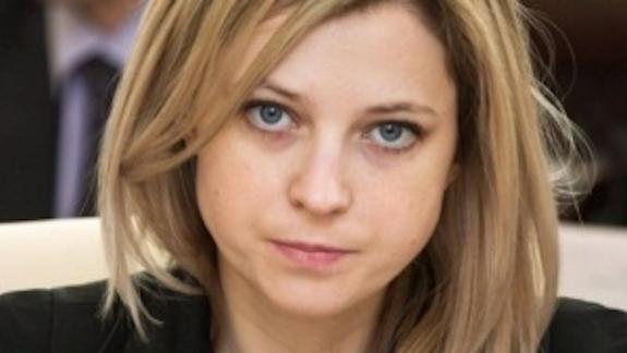 Поклонская: Собчак уже была в Крыму, не спрашивая разрешения на поездку у Киева