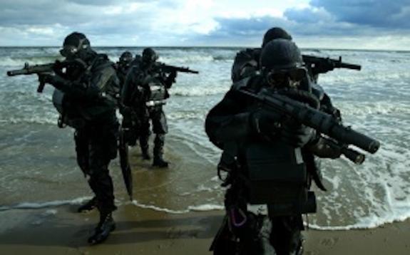 Боевые водолазы будут охранять мост в Керченском проливе