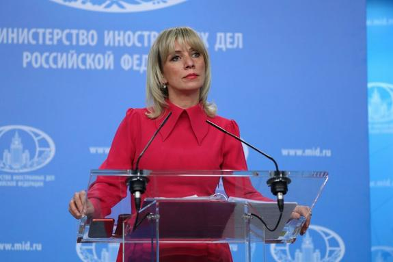 """Захарова высказала предположение, откуда мог взяться """"Новичок"""""""