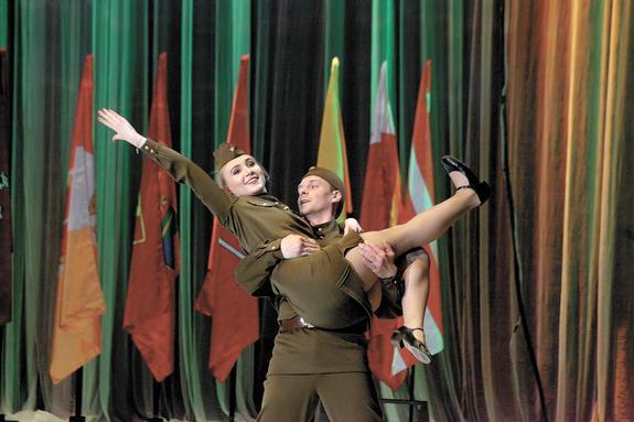 Театр начинается с армии