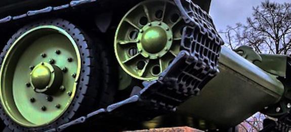 """Американский танк """"Шерман"""" времен ВОВ восстанавливают в Приморье"""