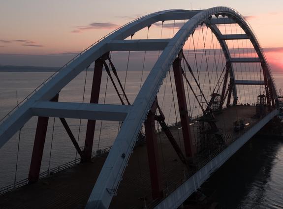 Власти Республики Крым: Украина может даже не мечтать о мосте