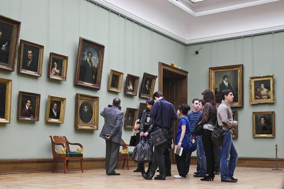 В сети появился снимок поврежденной в Третьяковке картины Ильи Репина