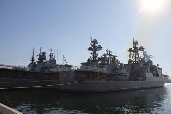 В Таиланд с дружественным визитом зашли корабли ВМФ России