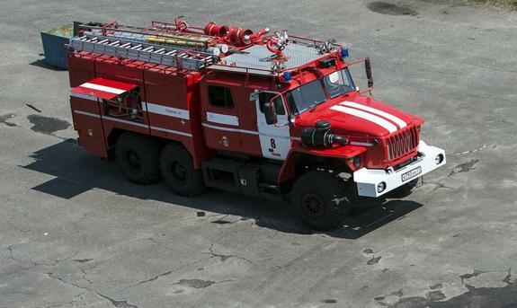 Пожар произошел в одном из торговых центров Барнаула
