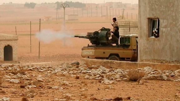 В Сирии при обстреле со стороны боевиков погибли российские военные