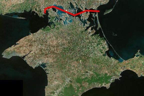 На Украине хотят отделить Крым каналом