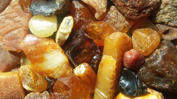 Абсолютный рекорд по добыче янтаря установили в Калининградской области