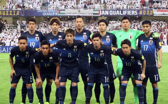 Сборная Японии на ЧМ-2018