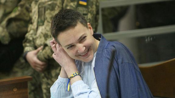 Надежда Савченко написала письмо Владимиру Путину