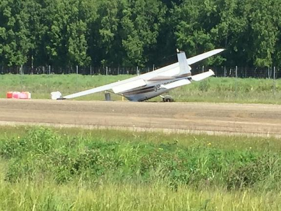 На Аляске произошло столкновение двух самолетов