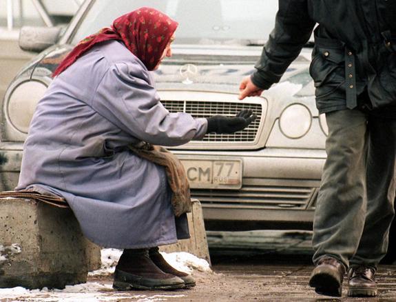 В России 50 миллионов бедных на грани нищеты ждут правительственных предложений