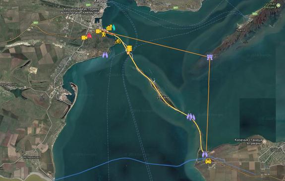 Google признала подпись Крымского моста некорректной