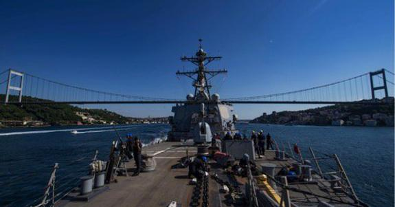 Два корабля ВМС США вошли в акваторию Черного моря