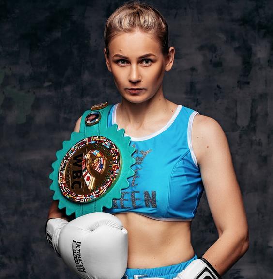Чемпионка WBC Инна Сагайдаковская: «Дури во мне больше, чем у Брекхус»