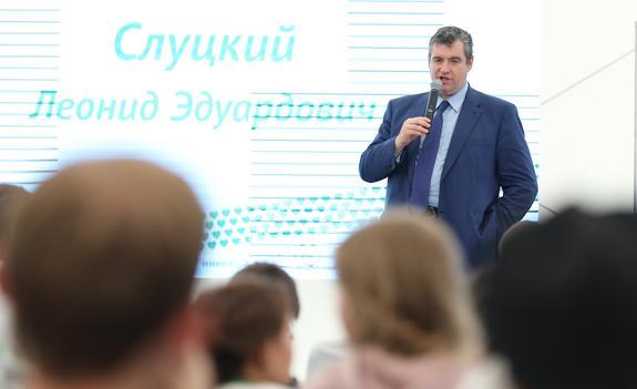 Леонид Слуцкий предложил провести осенью в Крыму православный молодежный форум